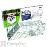 JT Eaton Answer Cage Trap for Squirrels, Rabbits, and Medium Size Animals (465N)