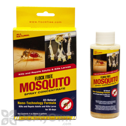Flock Free Mosquito Spray Concentrate