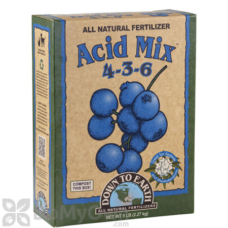Down To Earth Acid Mix Natural Fertilizer 4 - 3 - 6
