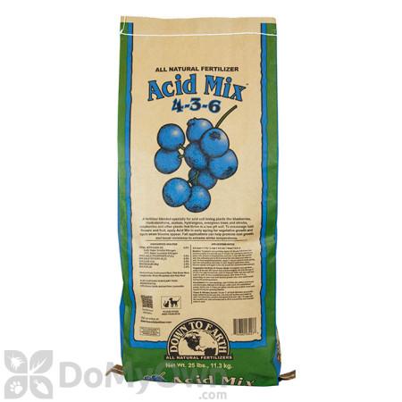 Down To Earth Acid Mix Natural Fertilizer 4 - 3 - 6 (25 lb.)