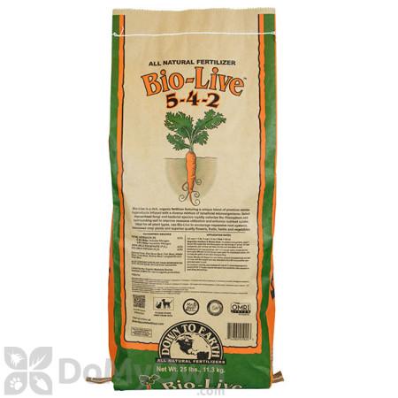 Down To Earth Bio - Live Natural Fertilizer 5 - 4 - 2