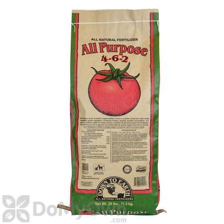 Down To Earth All Purpose Natural Fertilizer 4 - 6 - 2  (25 lb.)