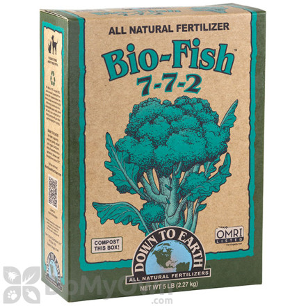 Down To Earth Bio - Fish Fertilizer 7 - 7 - 2