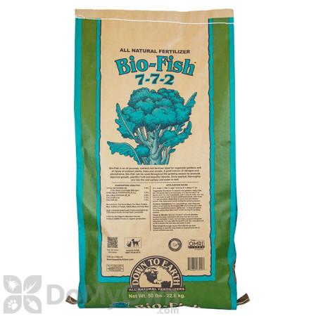 Down To Earth Bio - Fish Natural Fertilizer 7 - 7 - 2 (50 lb.)