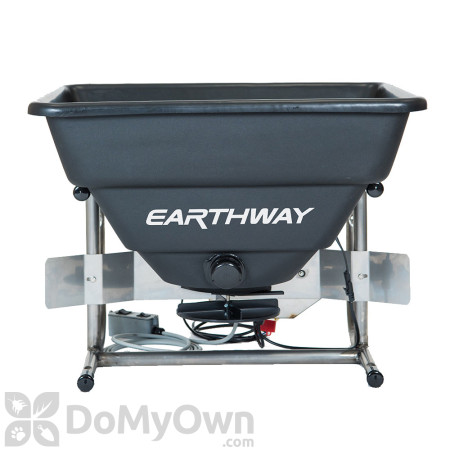 Earthway M80ECM Professional 250 lb. 12 Volt Stainless Steel ATV Mount Broadcast Spreader