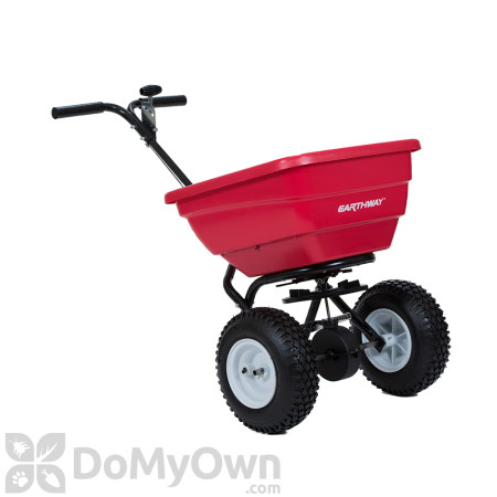 Earthway F80H Commercial 80 lb. Broadcast Spreader with High Output Tray
