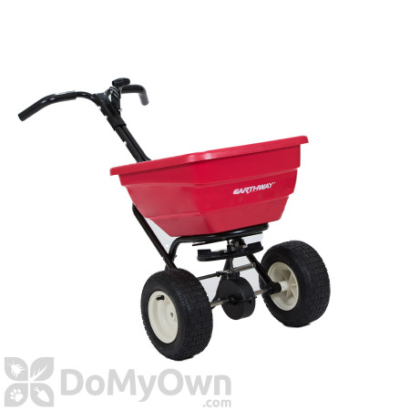 Earthway F80PD Professional 80 lb. Broadcast Spreader with Dual Port Pro Shut Off Tray