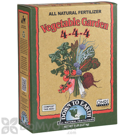 Down To Earth All Natural Vegetable Garden Fertilizer 4 - 4 - 4