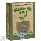 Down To Earth All Natural Fertilizer Starter Mix 3 - 3 - 3