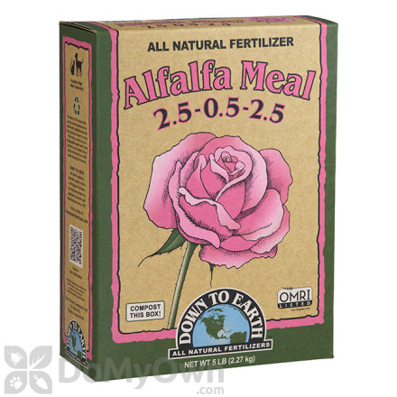 Down To Earth All Natural Fertilizer Alfalfa Meal 2.5 - 0.5 - 2.5