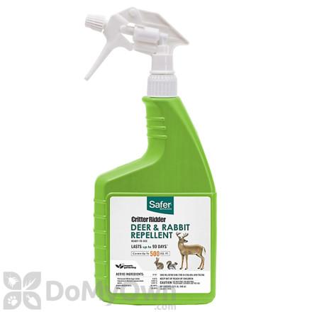 Safer Brand Critter Ridder Deer & Rabbit Repellent RTU