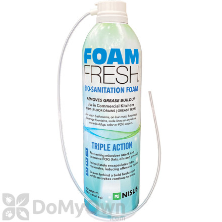 Foam Fresh Odor Control Foam