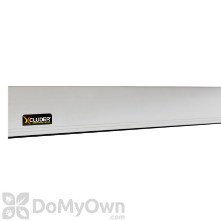 Xcluder Replacement Versa - Line Door Sweep Cover (COVER ONLY) Anodized Aluminum Finish - 36 in.