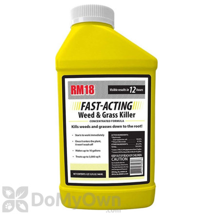 RM 18 Fast Acting Weed and Grass Killer Concentrate