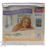 Protect-A-Bed Allerzip Smooth Mattress Encasement - Queen 9 in.