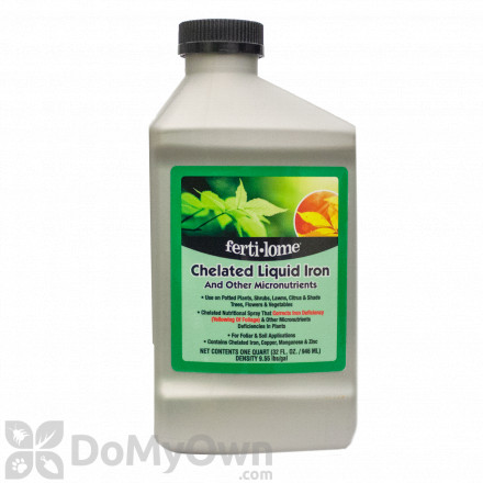 Ferti-Lome Chelated Liquid Iron and Other Micro Nutrients Quart