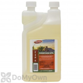 What is the mixing ratio of Martins Permethrin 10% when