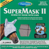 Farnam SuperMask II Horse Fly Mask with Ears - X-Large