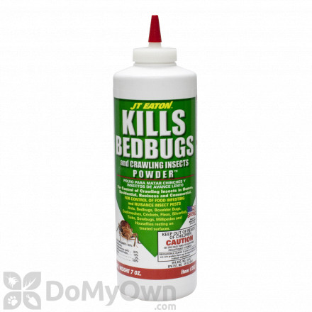 JT Eaton KILLS Bedbugs and Crawling Insects Powder