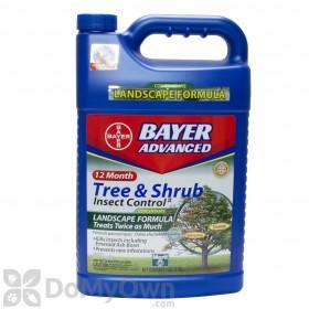 Bio Advanced 12 Month Tree & Shrub Insect Control Landscape Formula CASE (4 gallons)
