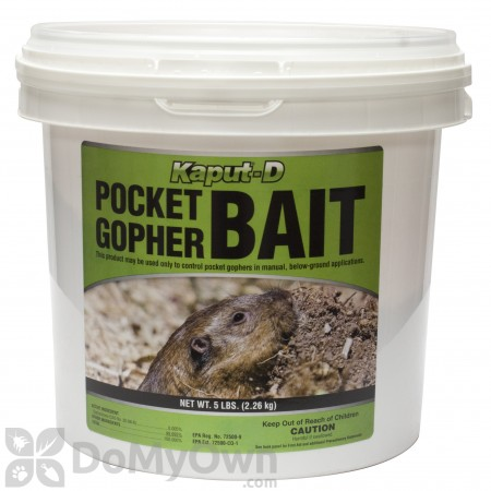 Kaput - D Pocket Gopher Bait - 5 lbs