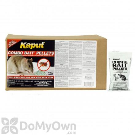 Kaput Combo Bait Pellets - 250 placepacks