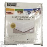 Mattress Safe Stretch Knit Box Spring Encasement - Cal Twin