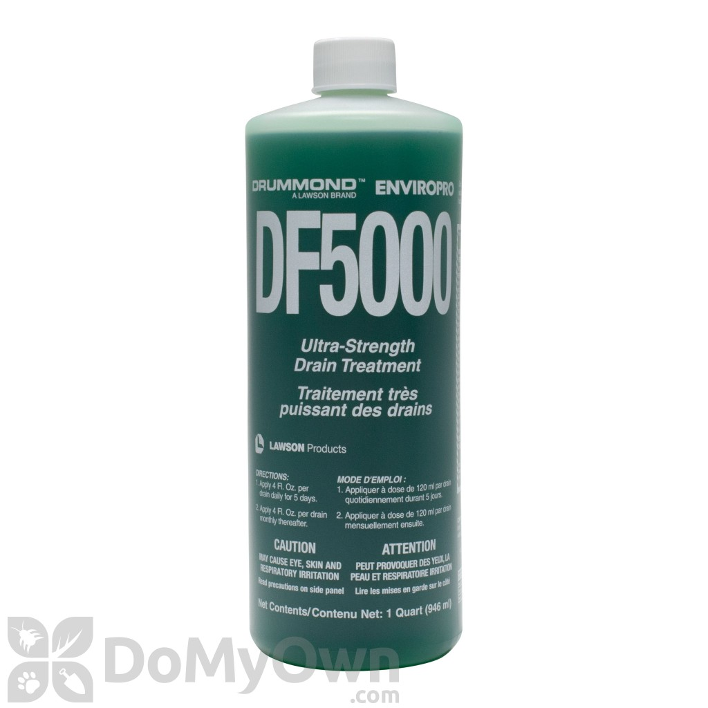 Df 5000 drain fly gel liquid drain fly treatment free for Drummond cleaning products