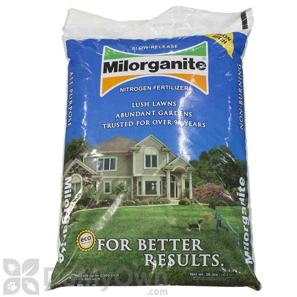 Milorganite Fertilizer 6 4 0