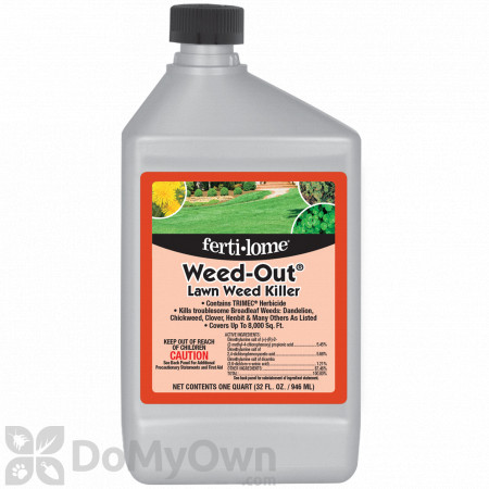 Ferti-lome Weed-Out Lawn Weed Killer with Trimec Quart