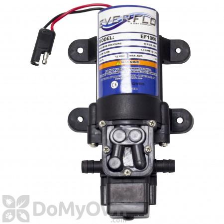 Master MFG 12 Volt Diaphragm Pump 1GPM (EF1000-BOX)