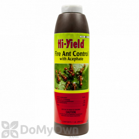 Hi-Yield Fire Ant Control With Acephate