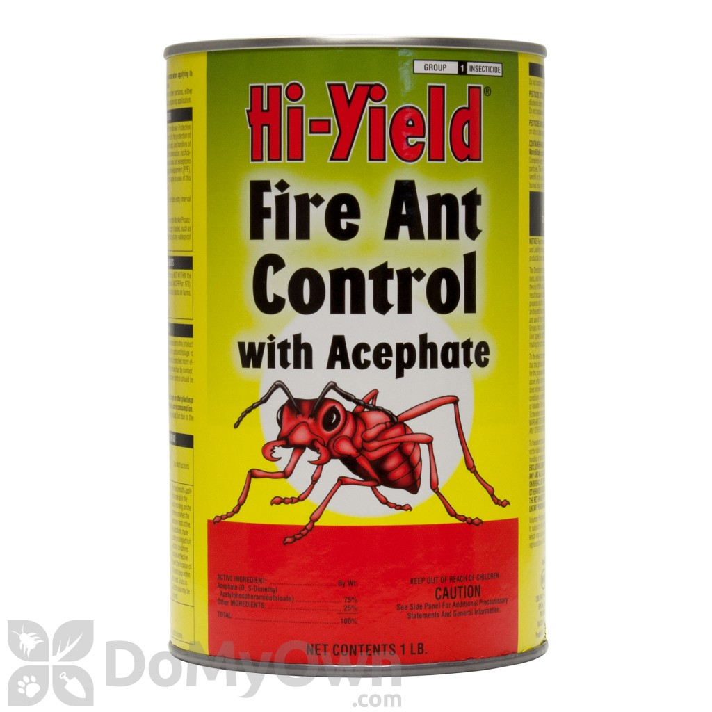 This is a photo of Sassy Topchoice Fire Ant Control Label