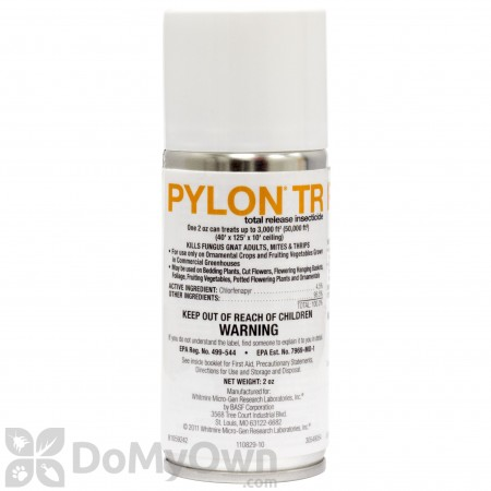 Pylon TR Total Release Insecticide CASE (12 x 2 oz. cans)