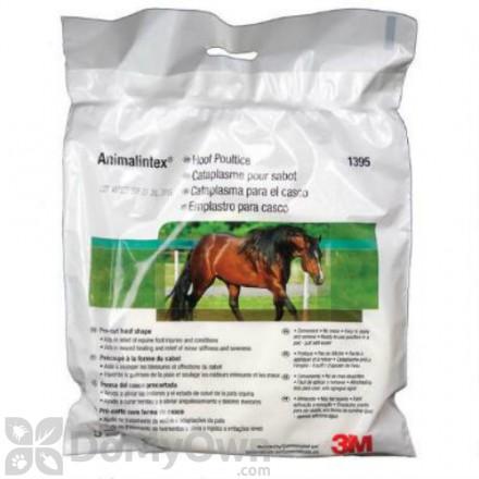 3M Animalintex Poultice Hoof Shaped Pad