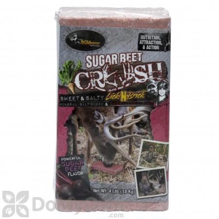Sugar Beet Crush Lick-N-Brick Block