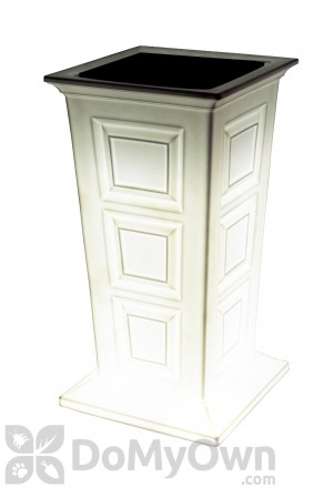 Savannah LED Planter - White