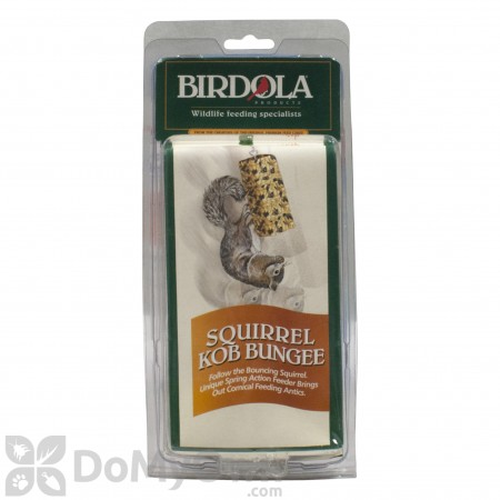 Birdola Products Squirrel Kob Bungee Squirrel Feed (54322)