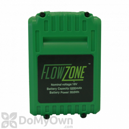 Battery for FlowZone Typhoon 4 Gallon Multi Use Continuous Pressure 18V 5.2Ah Lithium Ion Backpack Sprayer