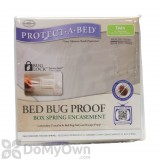 Protect-A-Bed Box Spring Encasement - Twin CASE (10 covers)