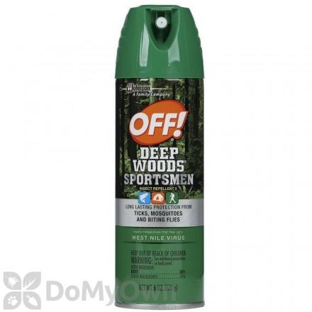 OFF! Deep Woods Sportsmen Insect Repellent II