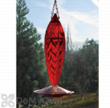 Schrodt Ruby Crystal Spiral Hummingbird Feeder 16 oz. (CSHFR)