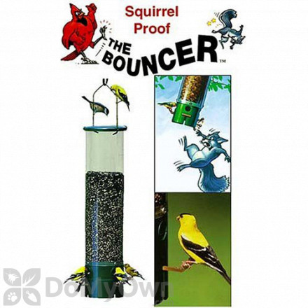 Vari - Crafts Squirrel - Proof Bouncer Bird Feeder (VCSBF1)