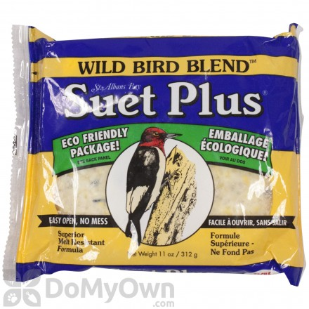 Wildlife Sciences Wild Bird Blend Suet Plus 203 (12 cakes)