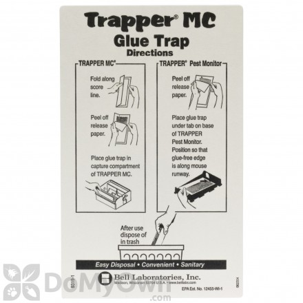 Protecta (Trapper MC) Glue Boards - CASE (48 boards)