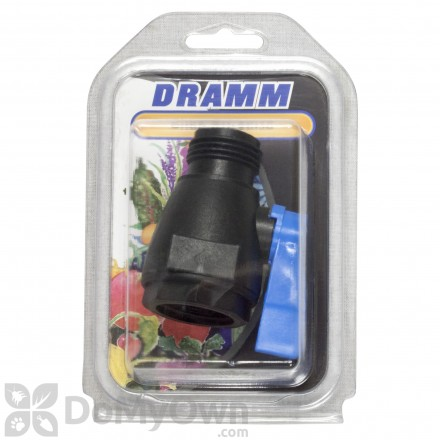 Dramm Plastic Shut Off Valve