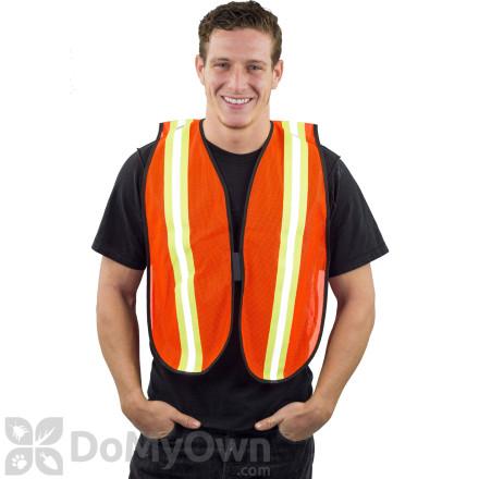 MCR V201R Safety Vest with Reflective Stripe