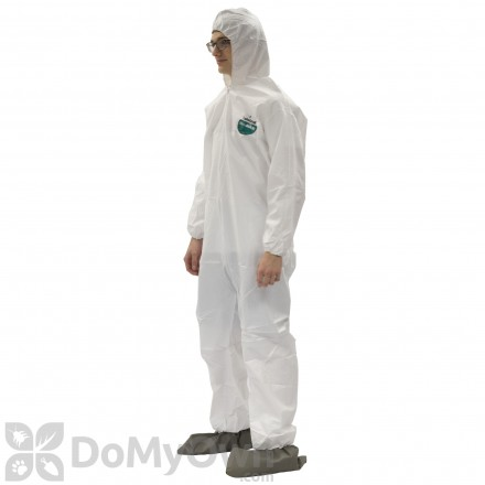 Tyvek Disposable Coveralls with Hood and Booties