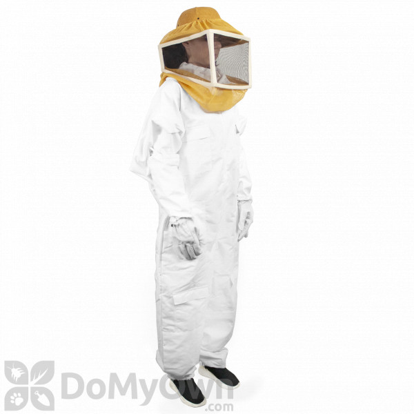 Insect Resistant Siamese Protective Suit Bee Keeping with Hood Bee Equipment