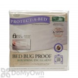 Protect-A-Bed Box Spring Encasement - Twin XL CASE (10 covers)